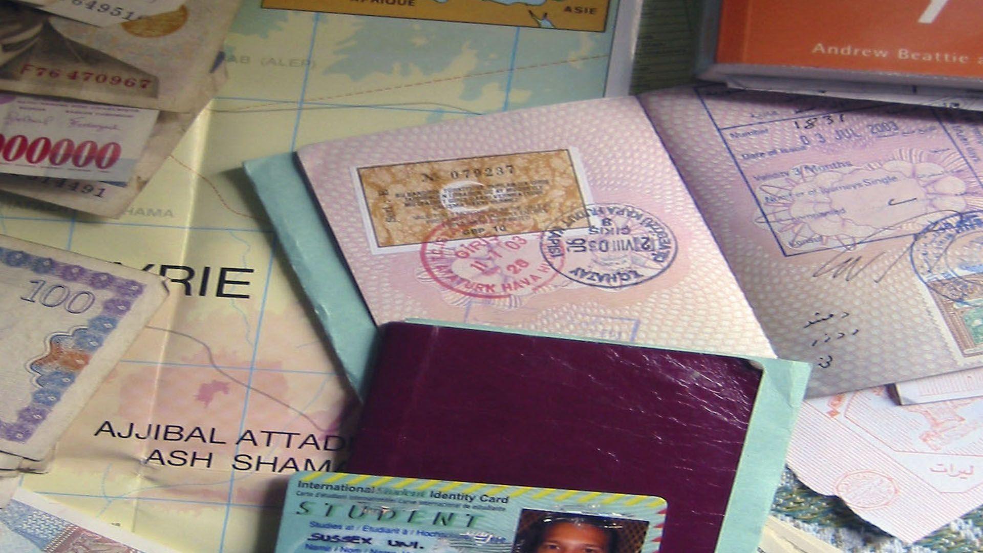 Carimbe seu passaporte!