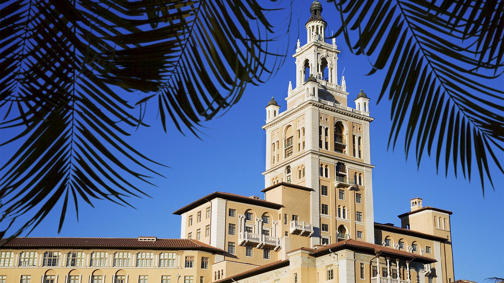 Biltmore é um hotel icônico de Miami.
