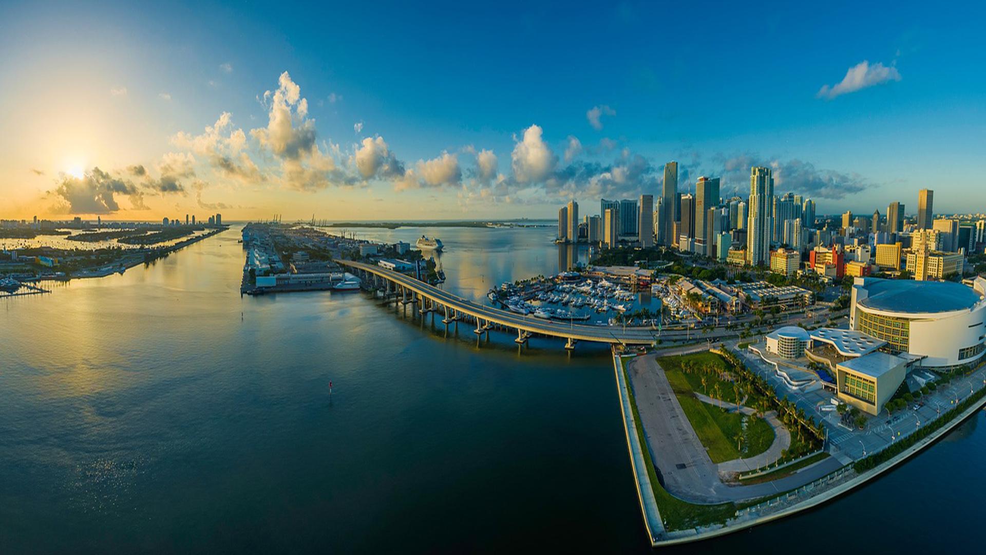 Miami é uma cidade d muitos encantos.