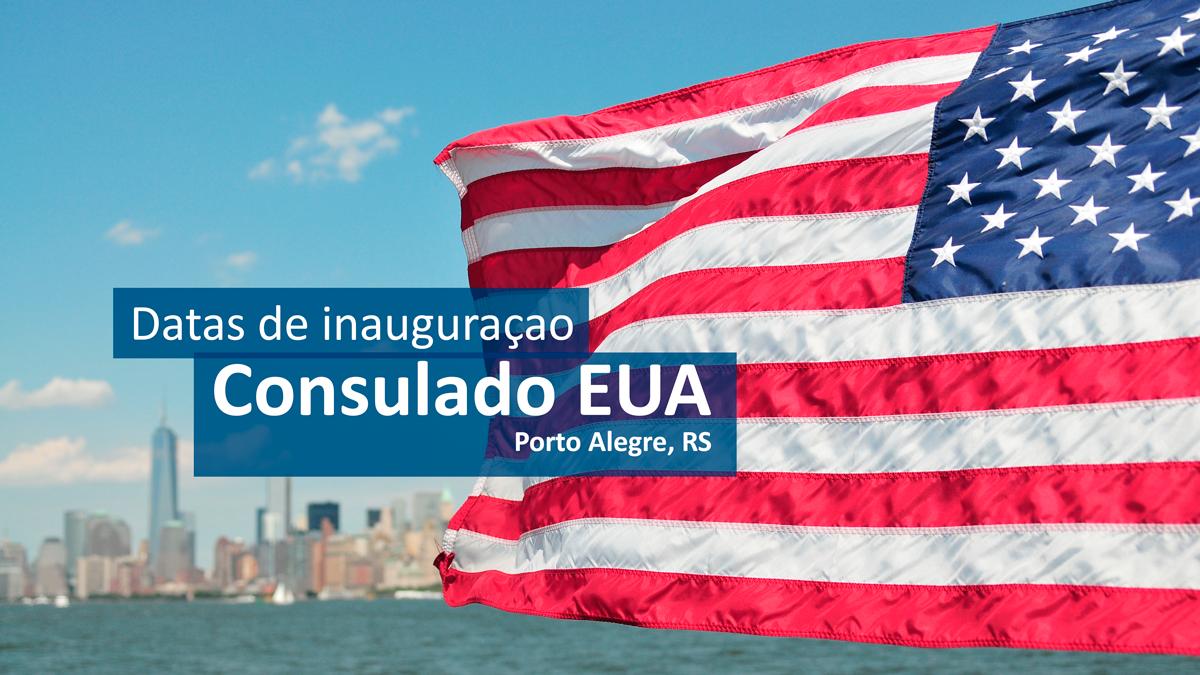 consulado-porto-alegre-inauguracao  Visto Americano