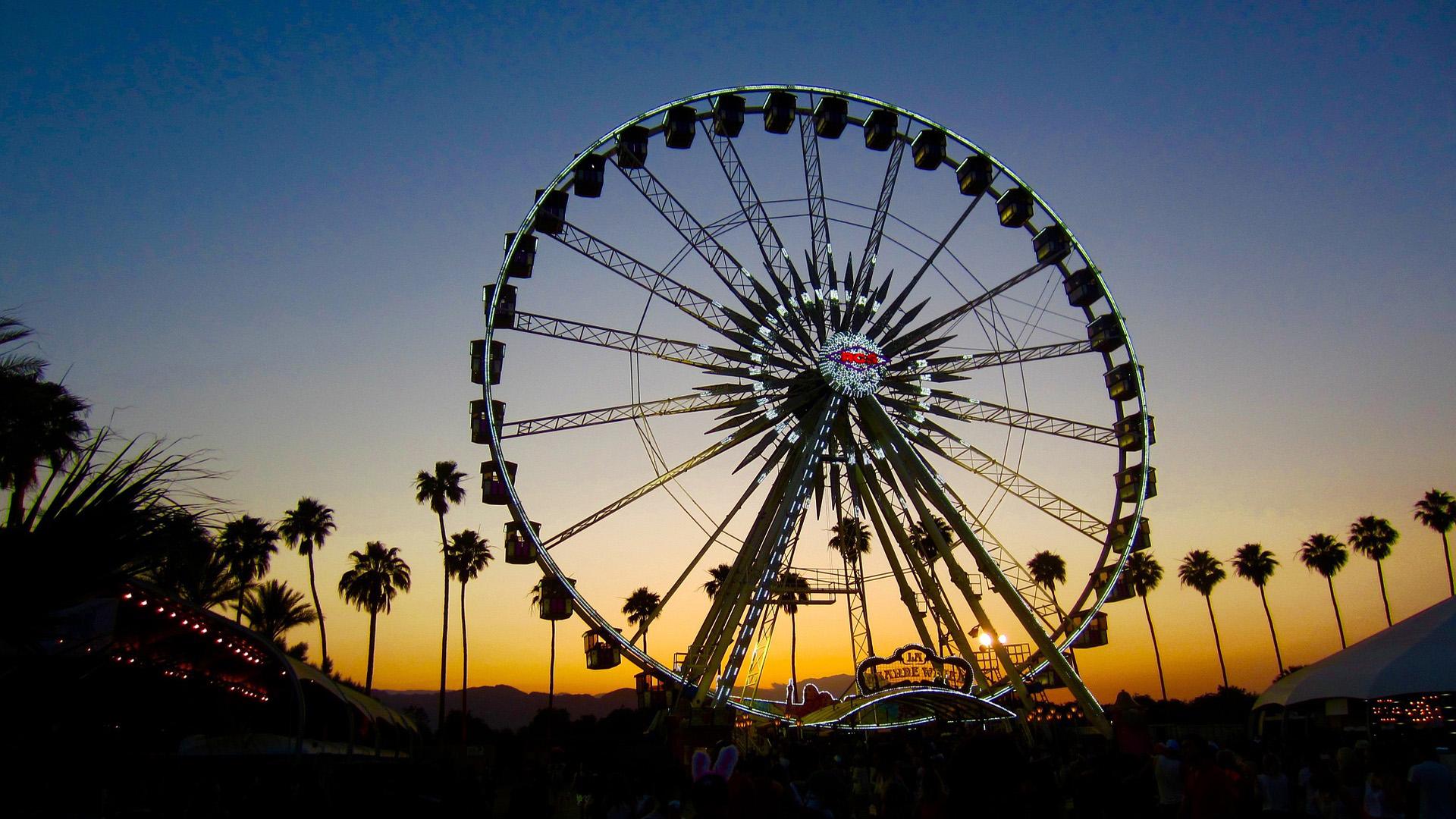 Coachella Festival se destaca no calendário mundial de festivais de música e já teve nomes como Lady Gaga na sua grade.