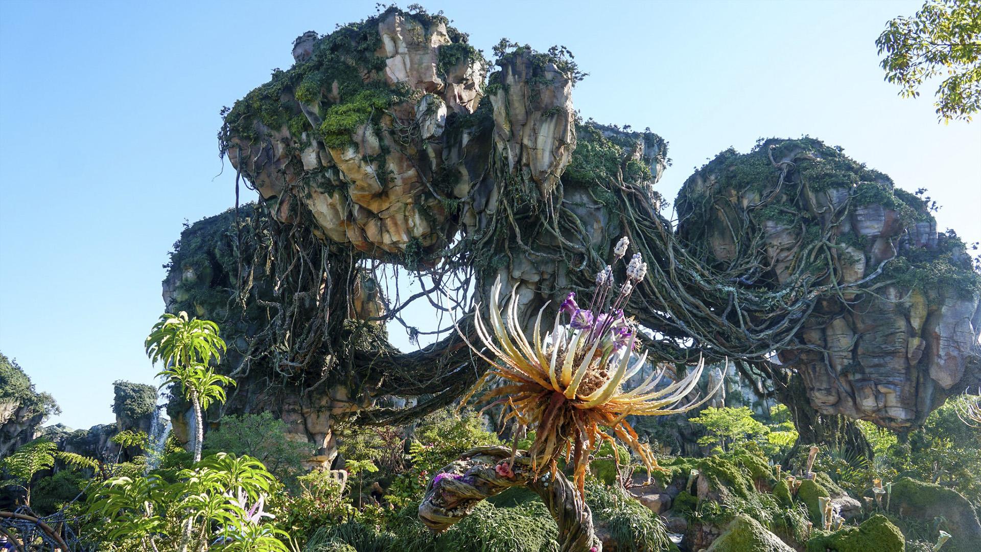 Pandora, a tão aguardada atração inspirada no campeão de bilheterias Avatar.