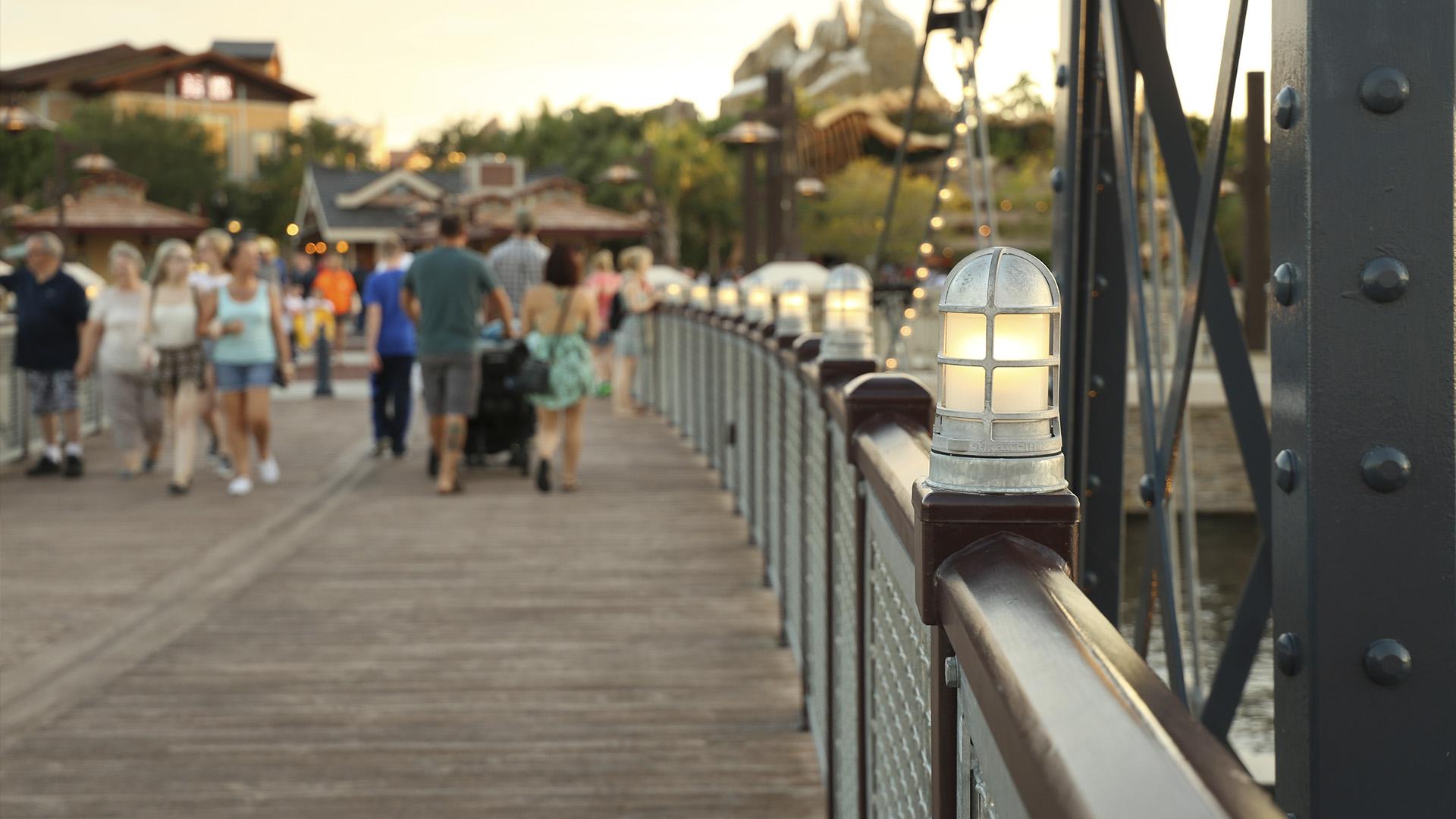 A Disney é atração para crianças e adultos. Assim como muito casais que procuram os parques para passar a lua de mel.