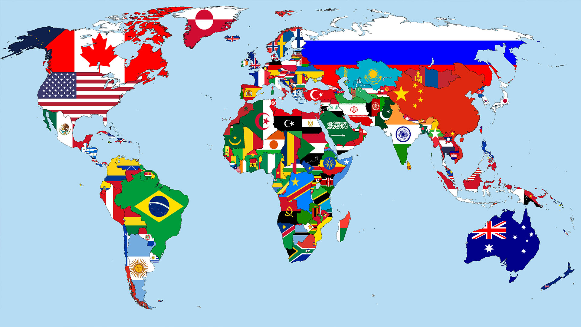 mapa  Visto Americano