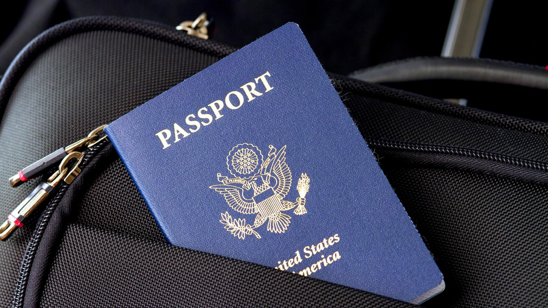 Não é possível solicitar um visto se você não tiver passaporte.