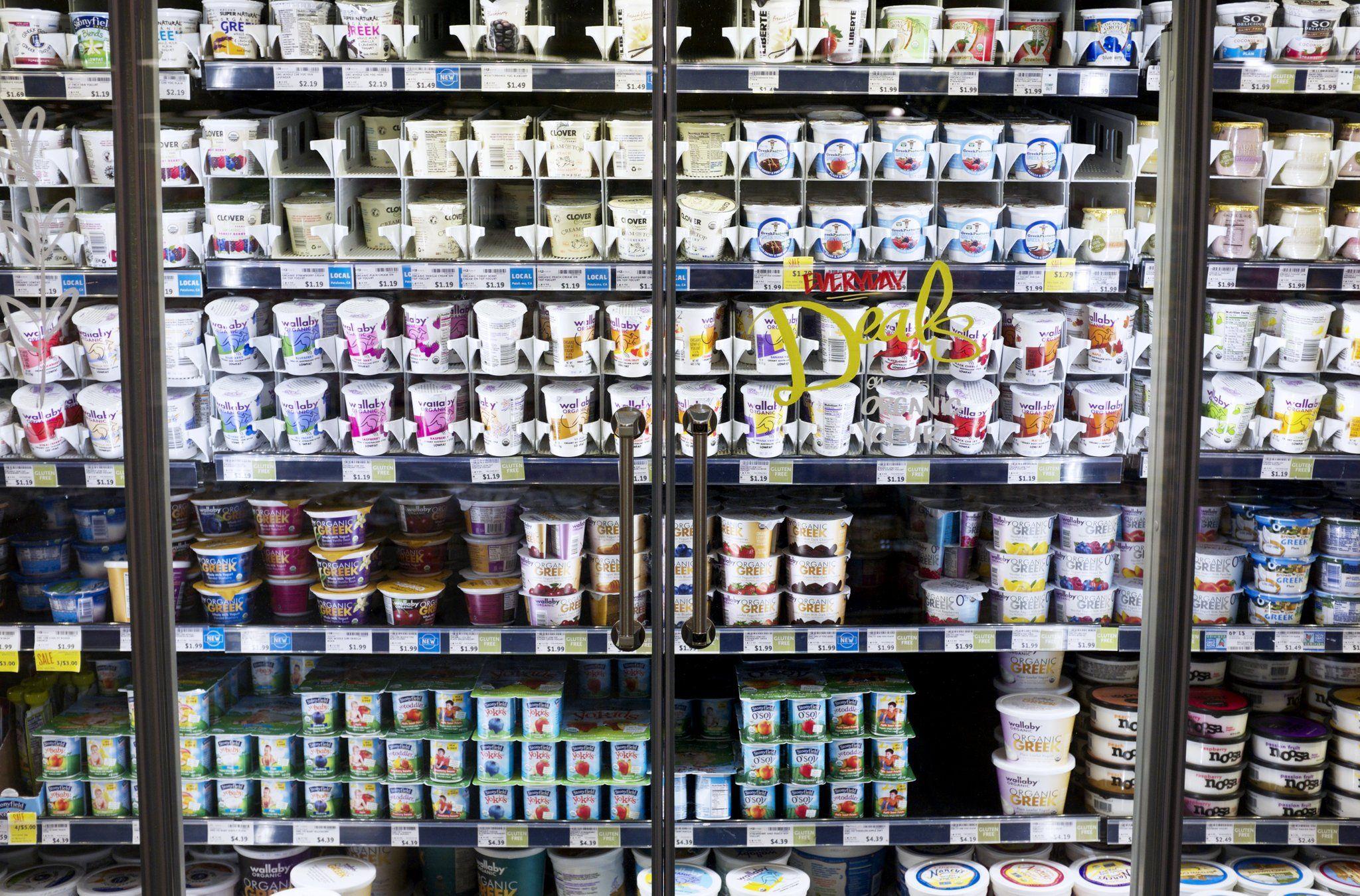 derivado do leite existe em abundância nos mercados americanos