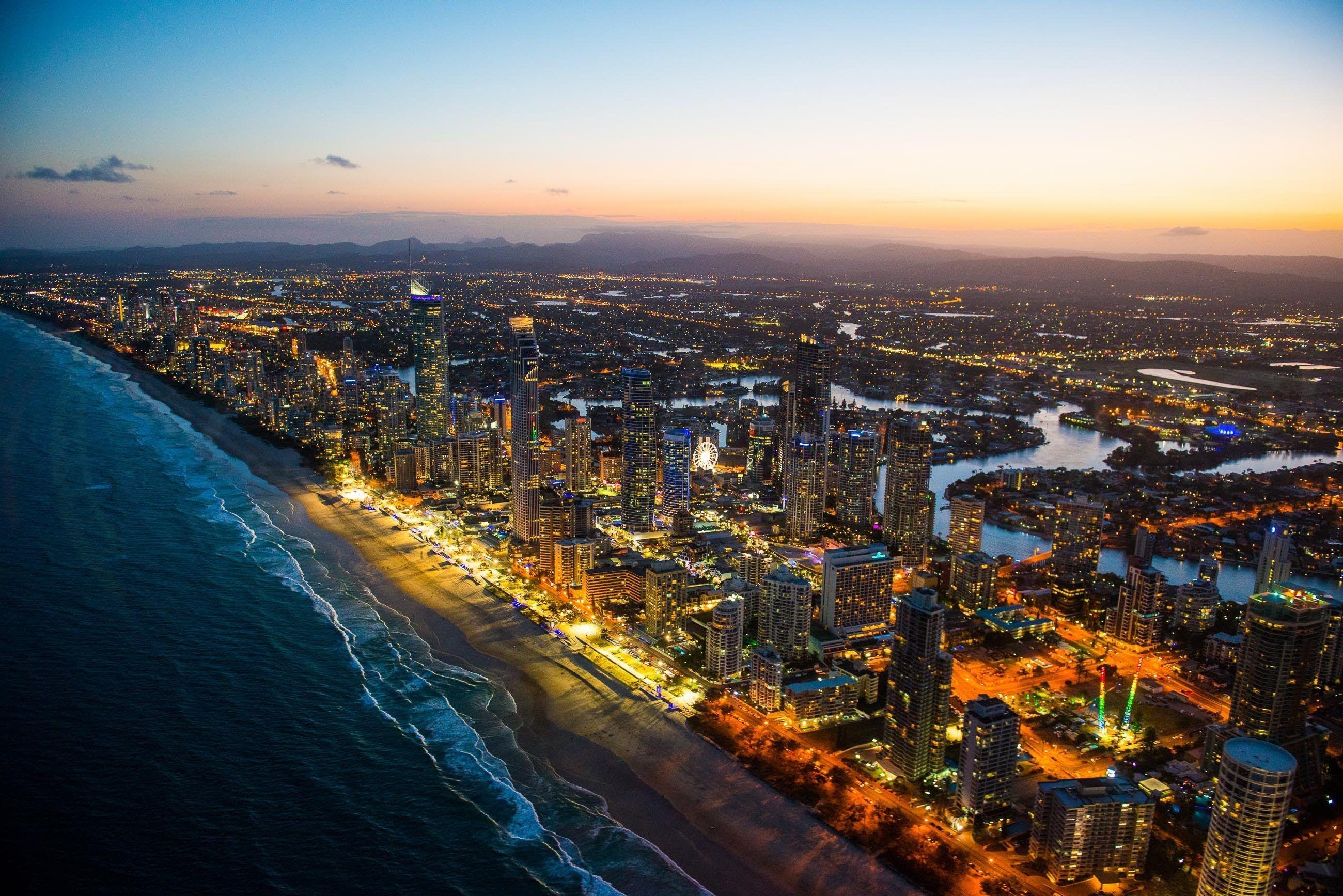 Gold Coast um dos melhores destinos na Austrália