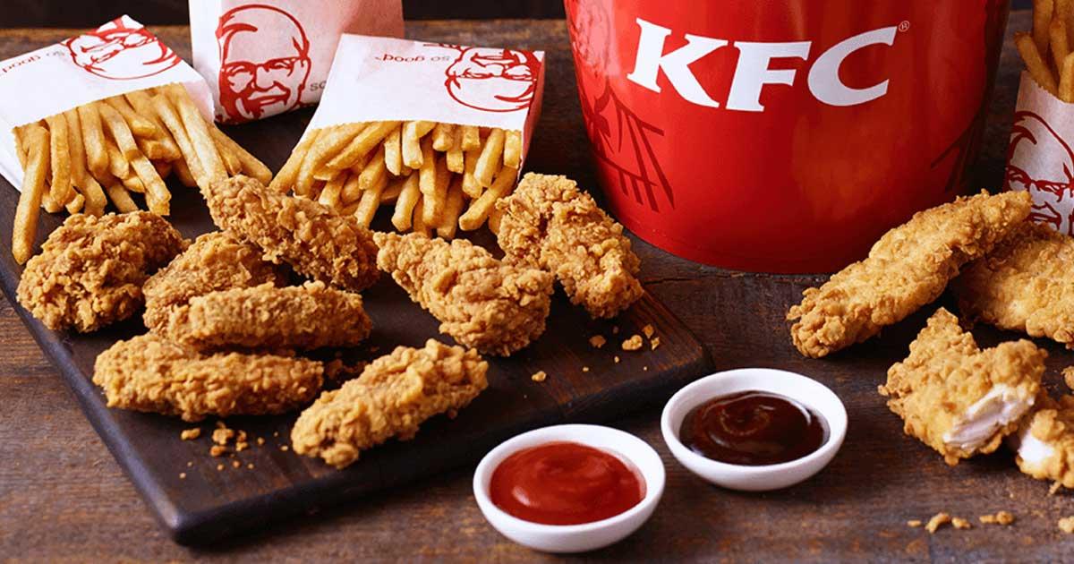 alimentação estados unidos da america KFC