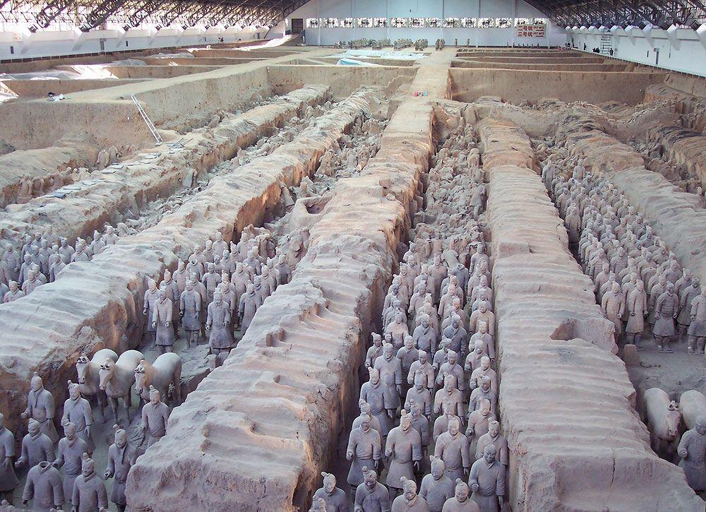 Soldados de Terracota Os melhores lugares para conhecer na china