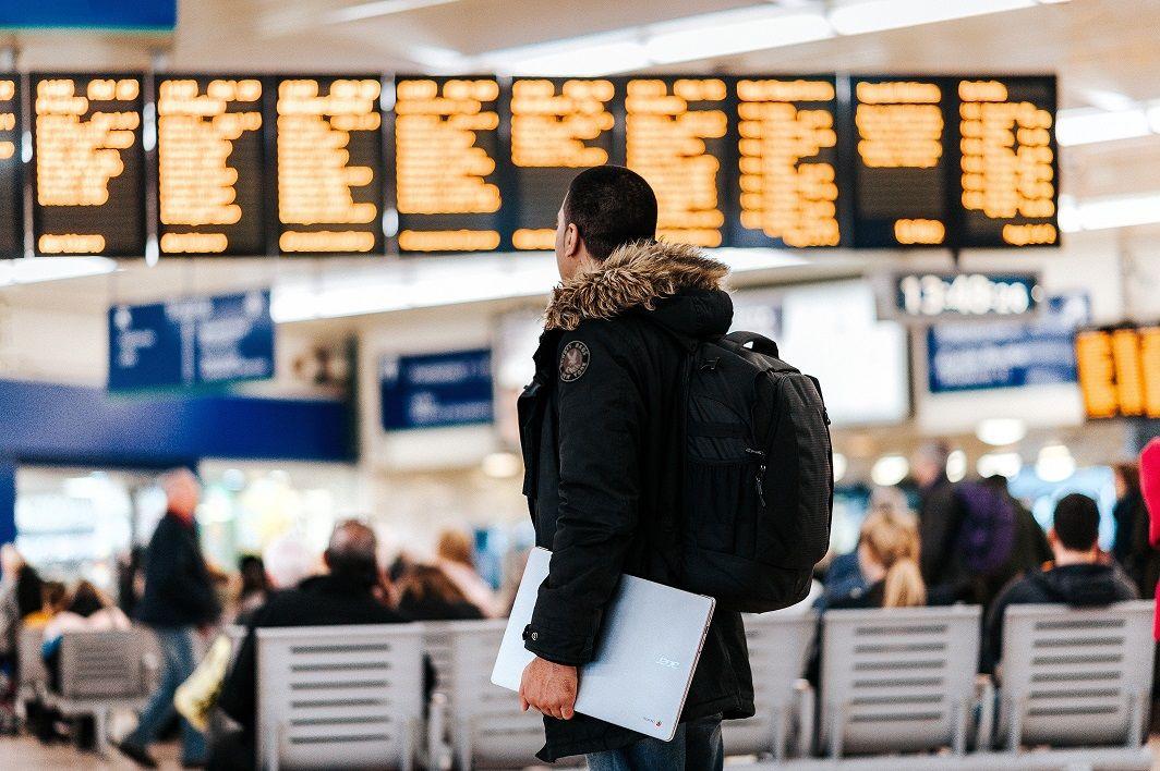 aeroporto viagem a trabalho com visto h1-b