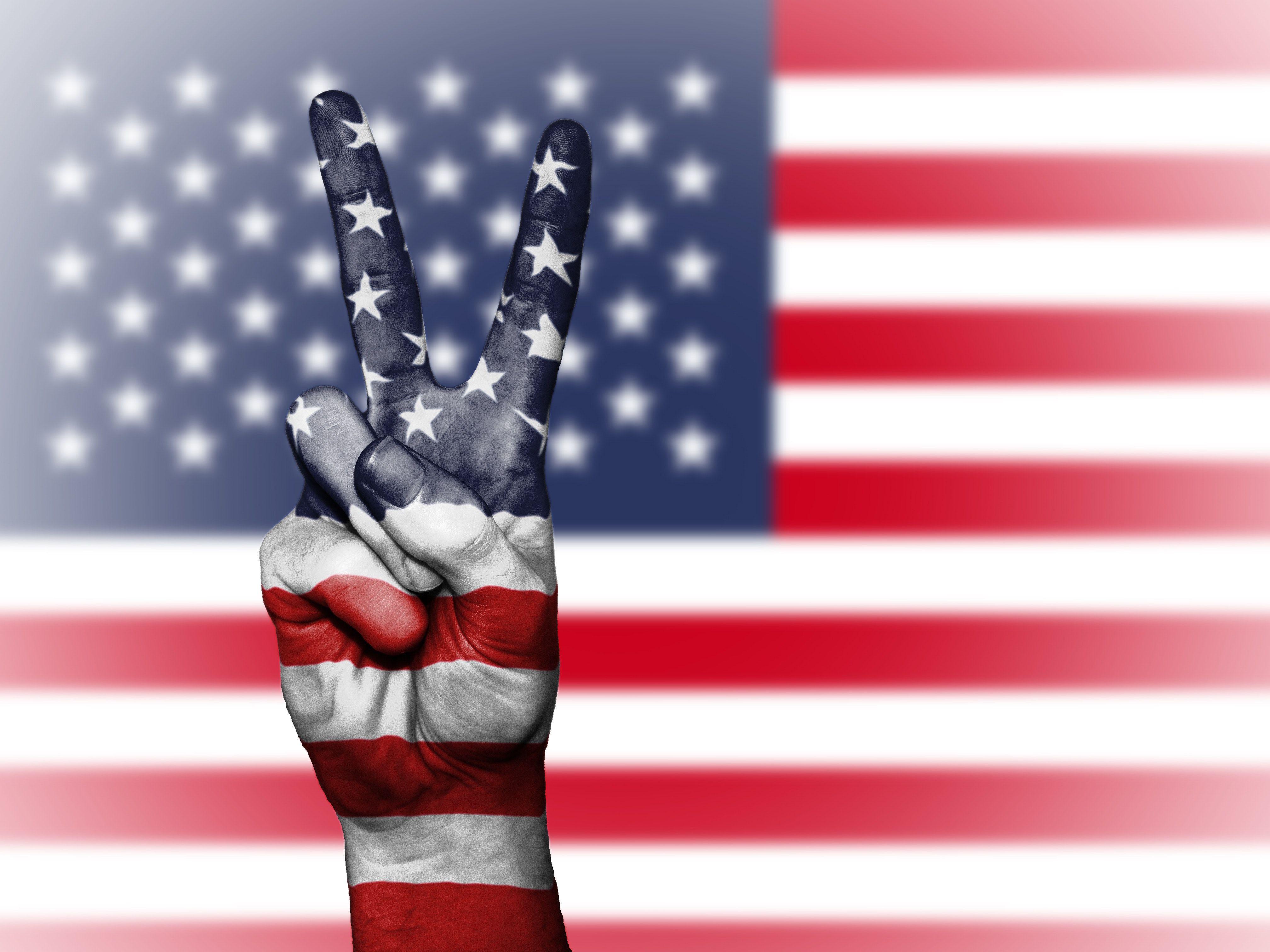 visto americano bandeira