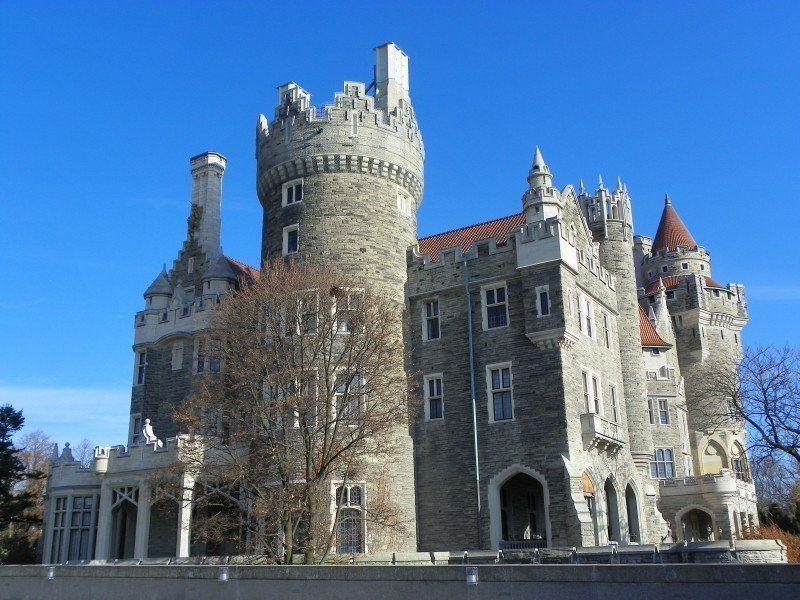 castelo ponto turístico canadense