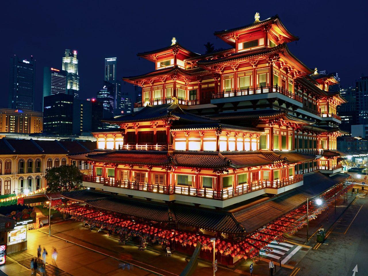 monumento turístico na china