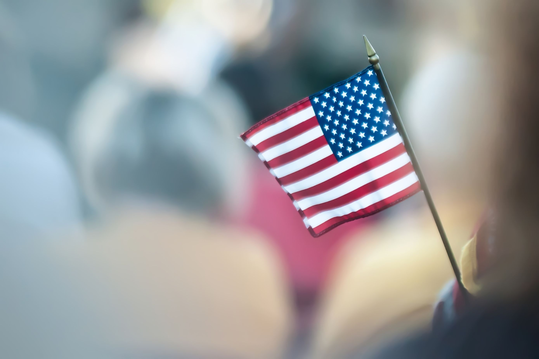 miniatura de bandeira dos estados unidos