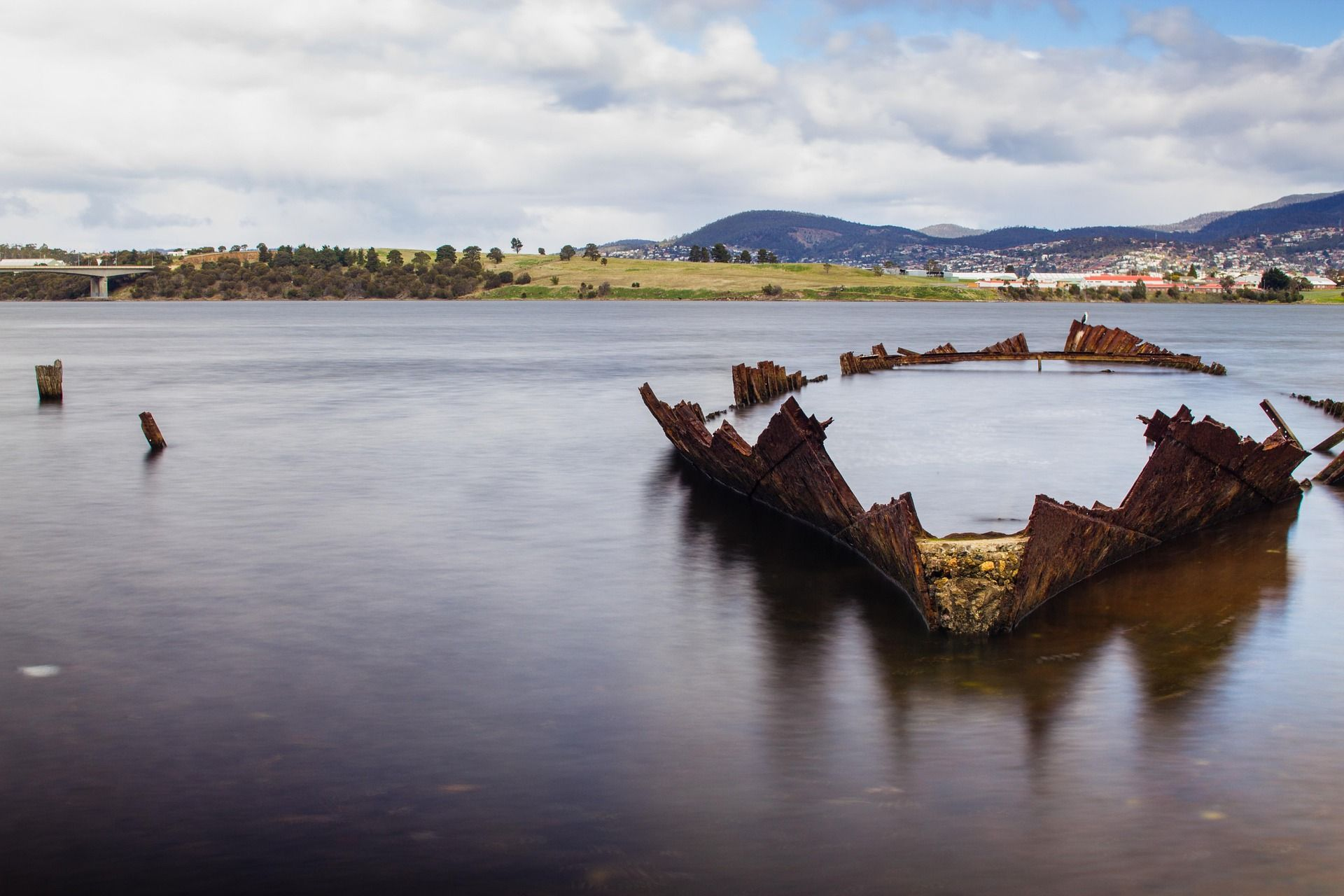 shipwreck river na tasmania