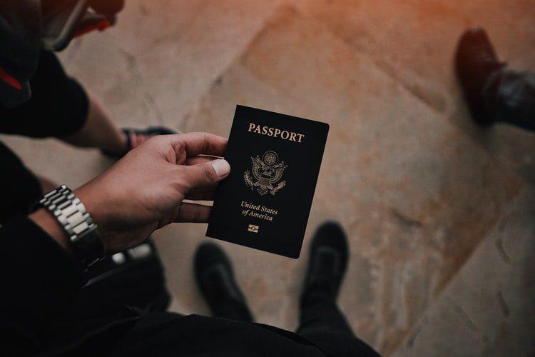 passaporte com green card americano