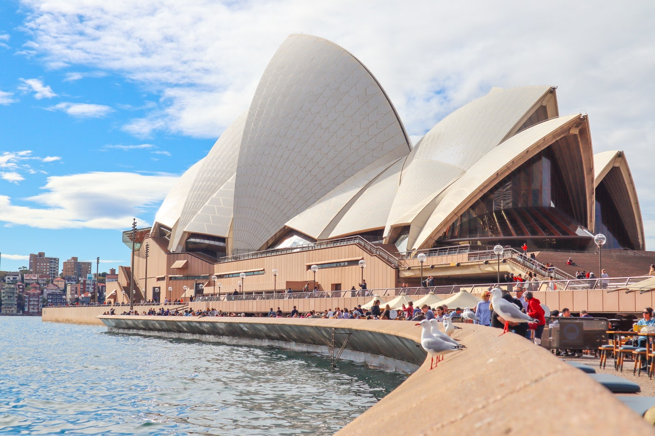ponto turístico da australia