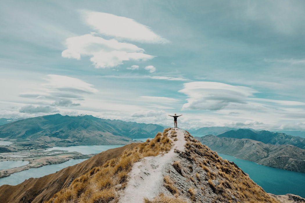 paisagem na nova zelândia